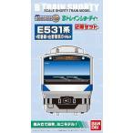Bトレインショーティー  E531系 常磐線・上野東京ライン (先頭+中間 2両入り) 鉄道模型 Nゲージ JR 東日本 【バンダイ】