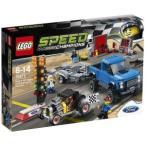 LEGO スピードチャンピオン 75875 フォード F-150 ラプター&フォードモデル A ホットロッド レゴブロック 男の子プレゼント 誕生日プレゼント