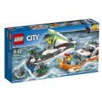 レゴ シティ 60168 海上レスキューボート LEGO レゴブロック 女の子プレゼント 男の子プレゼント 誕生日プレゼント クリスマスプレゼント