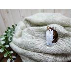 ブローチ&ステッカー 刺繍ブローチピン 猫刺繍エンブロイダリーキャッツ ネコグッズ みけねこ メーカー直販