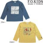 F.O.KIDS/PEANUTSコラボプリントTシャツ(スヌーピー)/80〜140cm/2020AW/R406180