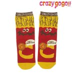 CrazyGoGo クレイジーゴーゴー/【3足セット1080円】ソックス/GOGO!!ポテトSOX 3P/2017SS/sgo-006
