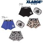 XLARGE KIDS/無地×迷彩ボクサーパンツ2枚セット/100-140cm/2020SP/9401406
