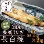 うなぎ白焼き 中95-104g×2尾