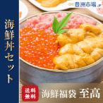 豊洲の海鮮丼セット 至高 約2〜3人前 王様のネギトロ&無添加生ウニ&北海道産いくら(うに イクラ ねぎとろ 詰め合わせ 寿司 刺身)