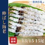 伸ばし海老(13/15)15尾 ブラックタイガー (えび エビ 海老)