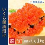 訳あり イクラ醤油漬け 1kg 500g×2 ロシア産 北海道製造 鱒いくら 鮭鱒いくら いくら醤油漬け