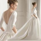 ウェディングドレス aラインドレス 安い ウエディング