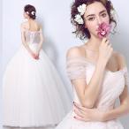 ショッピングプリンセス ウエディングドレス カラー エンパイア 二次会 ウェディングドレス 結婚式 安い プリンセス 花嫁 ドレス ピンク 披露宴 ロングドレス ブライダル wedding dress