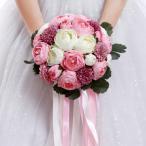 Yahoo!トヨワストアウエディングブーケ 安い ブートニア 結婚式 ブーケ 造花 ウェディング用 アレンジメント 花嫁 披露宴 手作り キット ブライダルブーケ