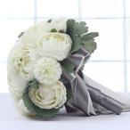ウエディングブーケ 安い ブートニア 結婚式 ブーケ 造花 ウェディング用 アレンジメント 花嫁 披露宴 手作り キット ブライダルブーケ