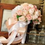 ウエディングブーケ ブートニア 安い 結婚式 ウェディングブーケ 花嫁 ブーケ 披露宴 ウェディング用 造花 ブライダルブーケ 手作り キット