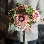 ウエディングブーケ  安い 結婚式 ブーケ 花嫁  披露宴 ウェディング用 ひまわり 造花 ブライダルブーケ 手作り  花束 歓迎会 卒業式 ギフト