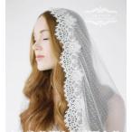 ウエディングベール オフホワイト ロングベール 安い 結婚式用ベール ウェディングベール 二次会 花嫁 ブライダル フェイスアップベール 披露宴 マリアベール
