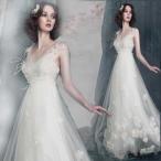 ウエディングドレス マタニティドレス エンパイア 安い 二次会 ウェディングドレス 結婚式 花嫁 ブライダル ロングドレス パーティドレス 白 wedding dress