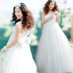 Yahoo!トヨワストアウエディングドレス マタニティ エンパイア 安い 二次会 ウェディングドレス 結婚式 披露宴 花嫁 ブライダル ロングドレス パーティドレス 妊婦着 大きいサイズ