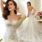 Yahoo!トヨワストアマーメイドドレス ウエディングドレス 安い ロングドレス 結婚式 ブライダル ウェディングドレス 二次会 マーメイドラインドレス バックレス wedding dress