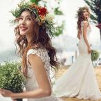 ウェディングドレス マーメイドライン ウエディングドレス 安い 花嫁 披露宴 マーメイドドレス ロングドレス 二次会 ブライダル 結婚式 大きいサイズ wedding