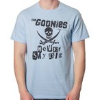 グーニーズ Goonies Movie Never Say Die ブルー Tシャツ