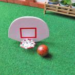 ミニチュア雑貨 バスケットボール&ゴールセット [NY61006][m-s]●【 ネコポス不可 】【C】
