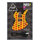 hide MODEL GUITAR YELLOW HEART ver. PLAYERS MOBILE BATTERY CHARGER