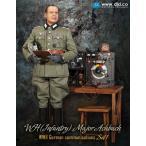 1/6スケール WH (Infantry) Major Achbach German communications Set1 (D80096) [DID]