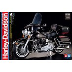 1/6 オートバイシリーズ No.37 ハーレーダビッドソン FLH クラシック ブラックバージョン(16037) [タミヤ]