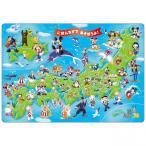 ディズニーチャイルドパズル 60ピース ミッキーと日本地図
