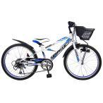 22インチ 子供用自転車 スプリンガーCR2 (ホワイト)【男の子向け】【送料無料】