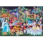 ディズニーステンドアート500ピースジグソーパズル(ぎゅっとサイズシリーズ) マジカルイルミネーション【ディズニーパズル】