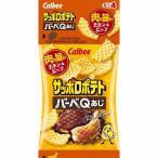 サッポロポテト  バーベQ味ミニ  4連【お菓子】