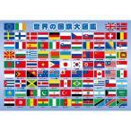 世界の国旗大図鑑 ピクチュアパズル 63ピース