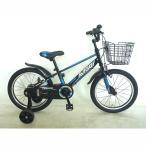 トイザらス AVIGO 18インチ 子供用自転車 トレイバー(ブラック/ブルー) T186148