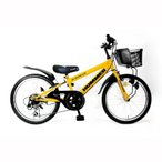 トイザらス限定 22インチ 子供用自転車 ハマー ジュニアCTB226 -TZ (イエロー)