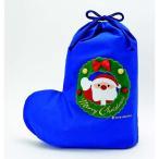 【クリスマス】布ギフトバッグ サンタ S