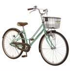トイザらス AVIGO 24インチ 子供用自転車 レガーロ ミントグリーン