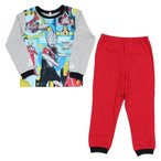 ウルトラマン そでピカ!光るパジャマ 長袖 110cm グレー