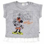ベビーザらス限定 ディズニー ミニー フレンチスリーブTシャツ(グレー×95cm)
