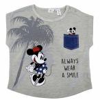 ベビーザらス限定 ディズニー ミニー 半袖Tシャツ(ナチュラル×80cm)