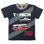 トミカ Tシャツ(ネイビー×100cm)
