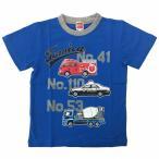 トミカ Tシャツ(ブルー×90cm)