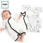 ベビーザらス限定 MOOMIN 新生児肌着5点セット ムーミンファミリー ホワイト 50-60cm