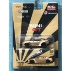 MINI GT 1/64 LB ワークス GT-R タイプ1 リアウイング2 ゴールド 完成品