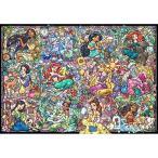 ディズニーステンドアート ジグソーパズル 1000ピース ディズニープリンセスコレクション ステンドグラス