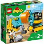 レゴ デュプロ 10931 トラックとショベルカー