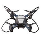 ドローン 完成品ラジコン クアッドコプター ドローン QuatroX クアトロックス ブラック