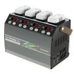 【大特価:50%off】Multi Charging Dock for Phantom Smart Battery DJI Phantom3 Phantom4対応バッテリー4本同時急速充電対応充電器 G0241