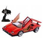 完成品ラジコン 1/14 ビッグスケール RCカー ランボルギーニ カウンタック LP500S 赤 27MHz