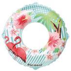 浮き輪 フラミンゴ 120cm うきわ 水遊び プール 海水浴 送料無料