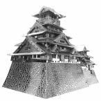 11月発売予定 メタリックナノパズル プレミアムシリーズ T-MP-007 大阪城 クロネコDM便・メール便送料無料